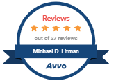 Avvo Reviews - 5 Stars